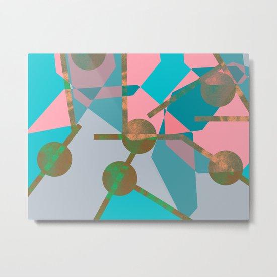 ART DECO GLAM 1 Metal Print