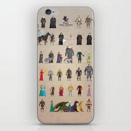 Game of Pixel Thrones iPhone Skin