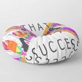 Stomp that STRESS into Success Floor Pillow