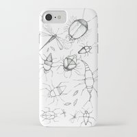 insects iPhone & iPod Cases featuring Insects by Amelia Dray Illustration