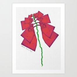 Strange Flora #003 Art Print