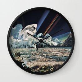Southern Lights Wall Clock