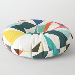 Collection of pointy summit Floor Pillow