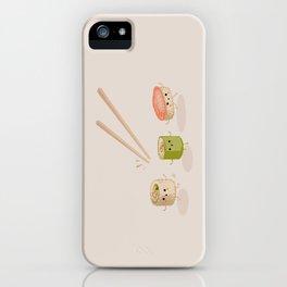 Running Sushi iPhone Case