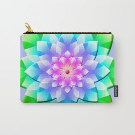 Blossom Mandala Carry-All Pouch