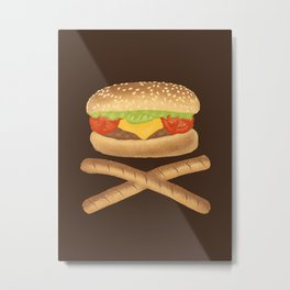 High Fat Metal Print