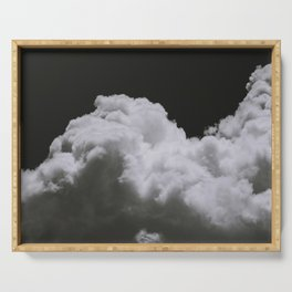 Night Clouds Serving Tray