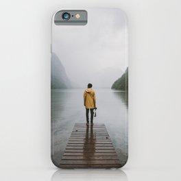 Mountain Lake Vibes - Landscape Photography iPhone Case