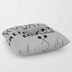FRUGATTI'S CALIF Floor Pillow