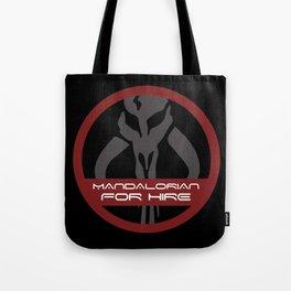 Mandalorian for Hire Tote Bag