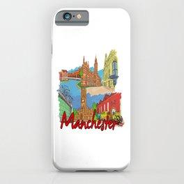 Manchester UK iPhone Case