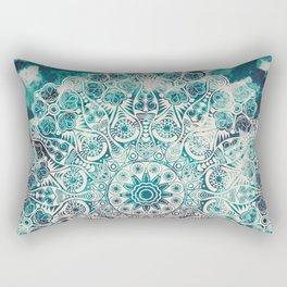 Mandala pattern design Rectangular Pillow