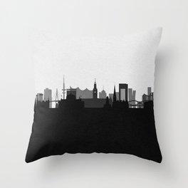 City Skylines: Hamburg Throw Pillow