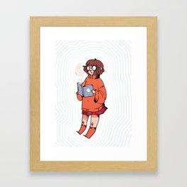 Jinkies! Framed Art Print