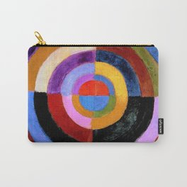 Le Premier Disque by Robert Delaunay Carry-All Pouch