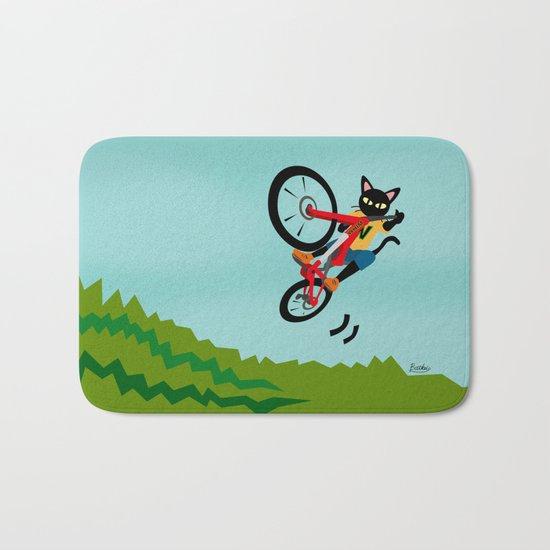 Bike Action Bath Mat