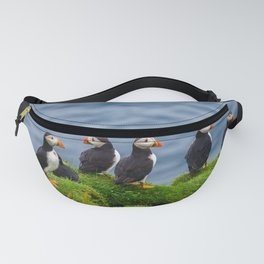 The Puffins of Mykines in the Faroe Islands X Fanny Pack