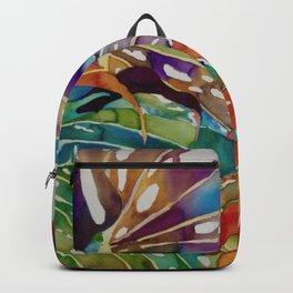 Hawaiian Leaves Backpack