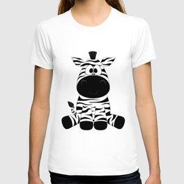 Sitting Zebra T-shirt
