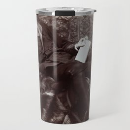 Portrait of Oscar Wilde (1882) Travel Mug