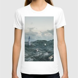 Survival of the tallest T-shirt