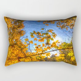Autumns Arrival Art Rectangular Pillow