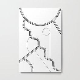 White Magic II Metal Print