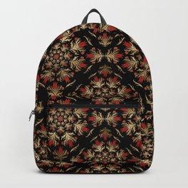 Turkish tulip - Ottoman tile pattern 15 Backpack