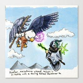 Doodles & Dragons - Mini Encounters Canvas Print