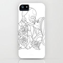 Kissed by the curse iPhone Case
