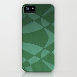 Wings and Sails - Green and Light Green iPhone Case