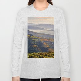 morning mists in the Vale do Douro Long Sleeve T-shirt