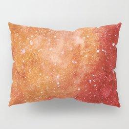 Burning galaxy Pillow Sham