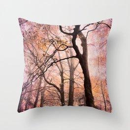 fairytale forest Throw Pillow