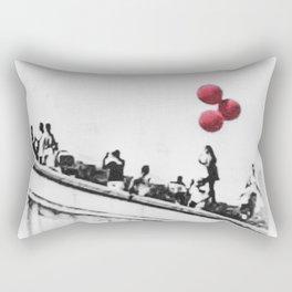 red balloons Rectangular Pillow