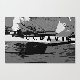 UC DAVIS CREW Canvas Print