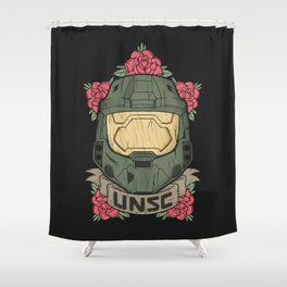 Halo UNSC Shower Curtain