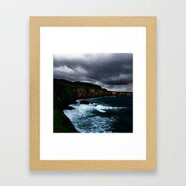 Irish Seascape Framed Art Print