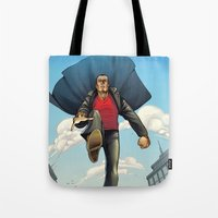 dracula Tote Bags featuring Dracula by Eco Comics