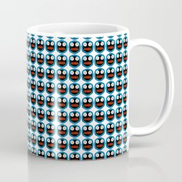 Ghastly Graphic Pattern Face Coffee Mug