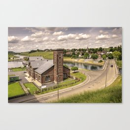 Pump House at Ascensior 4  Canvas Print