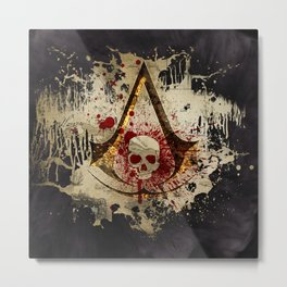 Assassin of the Caribbean Metal Print