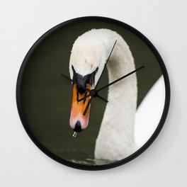 1046365 Mute Swan Wall Clock