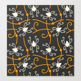 Creepy Spiders Canvas Print