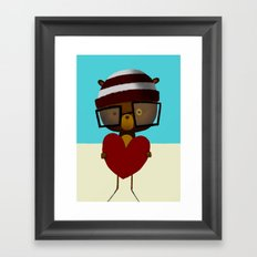 Yours Framed Art Print