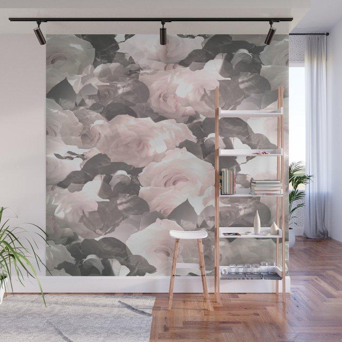 Rose Garden Soft Color Tone #decor #society6 #buyart Wall Mural