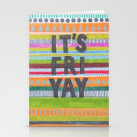 friday Stationery Cards featuring Friday by Alice Alva