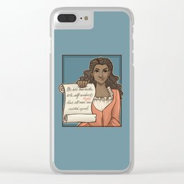 Fixed It Clear iPhone Case