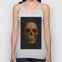 Sugar skull Unisex Tank Top