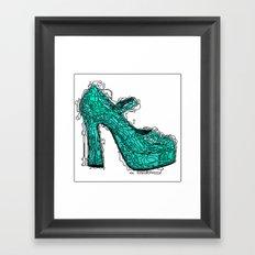 Shoe 2 Framed Art Print